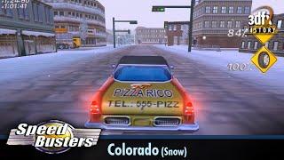 3dfx Voodoo 5 6000 AGP - Speed Busters: American Highways - Colorado (Snow) [Gameplay]