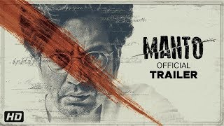 Manto - Official Trailer | Nawazuddin Siddiqui | Nandita Das | In Cinemas 21st September 2018