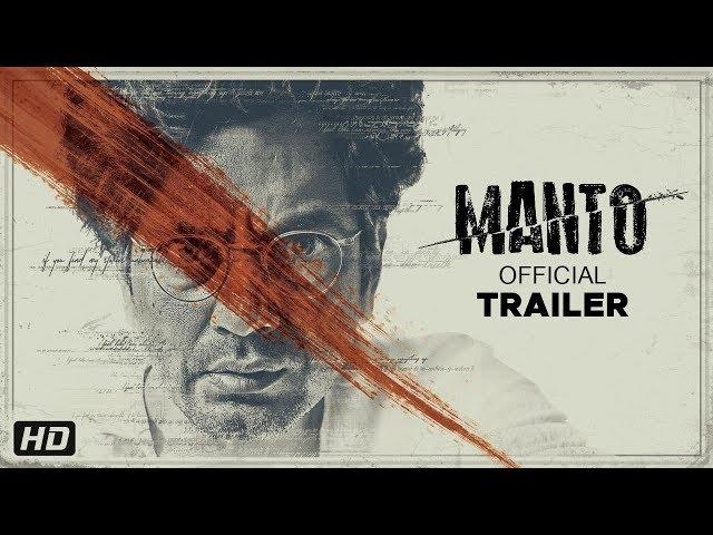 Manto - Official Trailer | Nawazuddin Siddiqui | Nandita Das | In Cinemas 21st September 2018