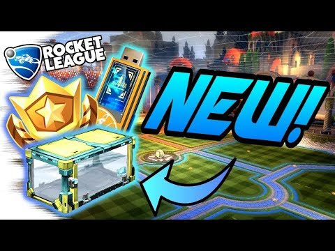 "Rocket League UPDATE: NEW CRATE & ""Rocket PASS"" Items, DECRYPTORS, Season REWARDS! (Gameplay/Goals) thumbnail"