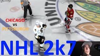 Chicago vs Pittsburgh - NHL 2k7