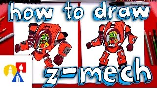 How To Draw Z Mech From Plants vs Zombies