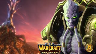 Archimonde's Death Cinematic - All Night Elf Cutscenes [Warcraft 3: Reign of Chaos]