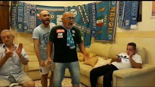 Napoli - Roma 2-1  05-07-2020  (Casa Cuomo)