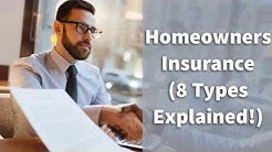 Homeowners Insurance (8 Types Explained!)