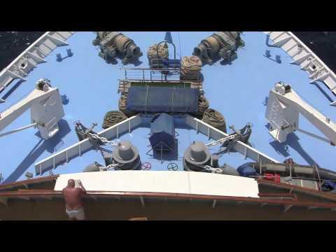 The Thomson Destiny Cruise Ship - August 2010
