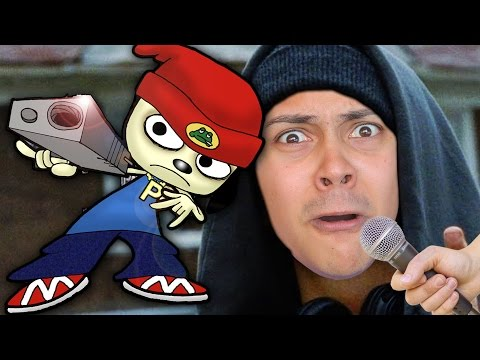 LEARN HOW TO RAP LIKE A GANGSTER! THIS GAME IS SO CATCHY! (Parappa The Rapper 2 PS4 Remake)