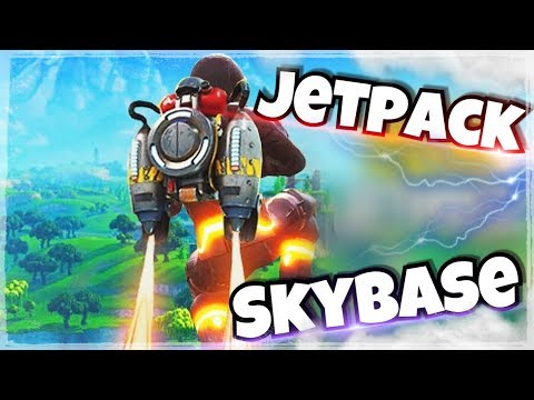 "Der Neue ""JETPACK MODUS"" 🔴Live│SKYBASE (Neuer Trick)🔥│Fortnite Battle Royal"