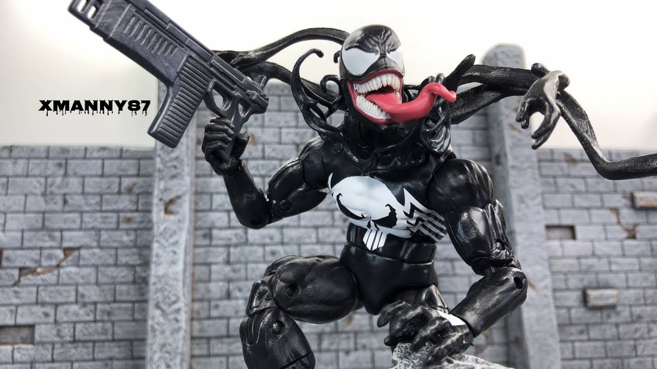 Marvel Legends Venomized Punisher (Marvel Unlimited Plus Membership  Exclusive)