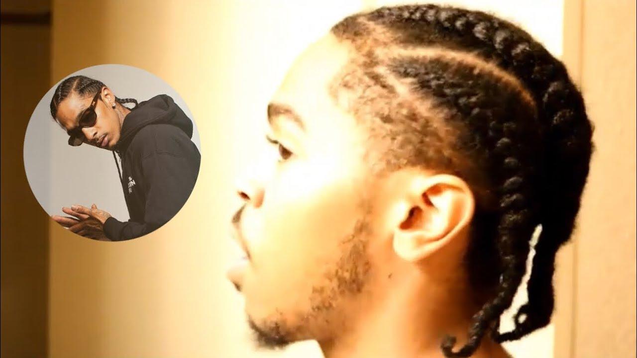 Latest Hair Styles Of Braids: Nipsey Hussle Braids - YouTube
