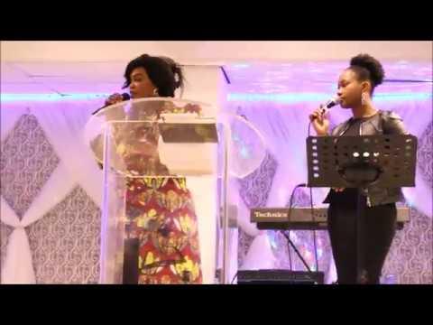 suivez Mama Bea Omenga  a rotterdam conference int. des femmes colonne de la verite
