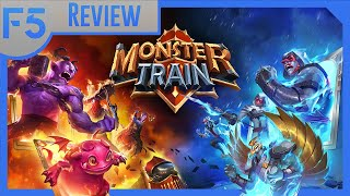 Year in Review: Monster Train | The Blizzardification of Deckbuilders (Video Game Video Review)