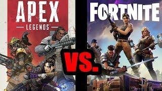 Apex Legends VS. Fortnite, Heroes vs Building, FPP vs TPP (PS4)