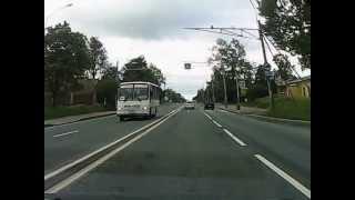 ДТП в Парголово 15 июня 2013 Спб(неадекват на девятке., 2013-06-15T15:57:04.000Z)