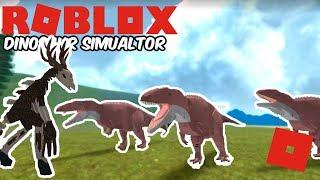 Roblox Dinosaur Simulator - Wendigo Remodel Progress! + Team Acro!