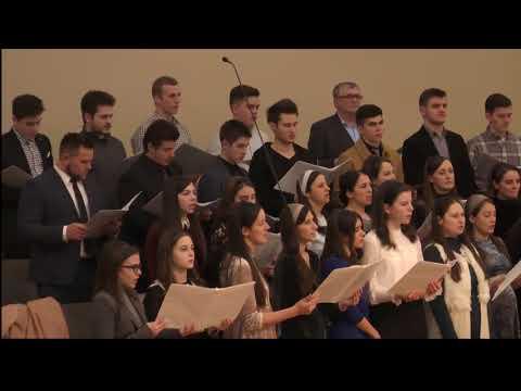 Imnul de la miezul nopții - Biserica Penticostală Golgota Portland Oregon 12-31-2017 pm