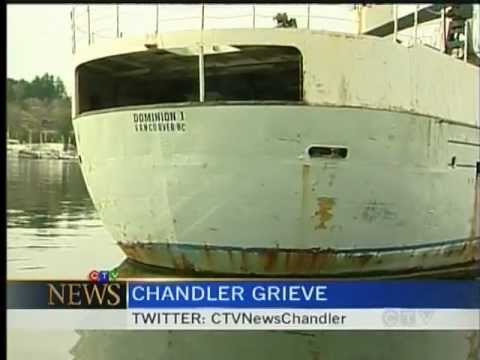Derelict Boat Approaching Half-Decade Stay in Cowichan Bay