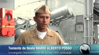 El poder naval de la Fragata Ligera ARC Antioquia