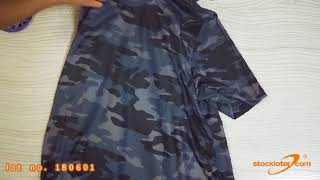 Men's Camouflage T-shirts in Stock (180601)
