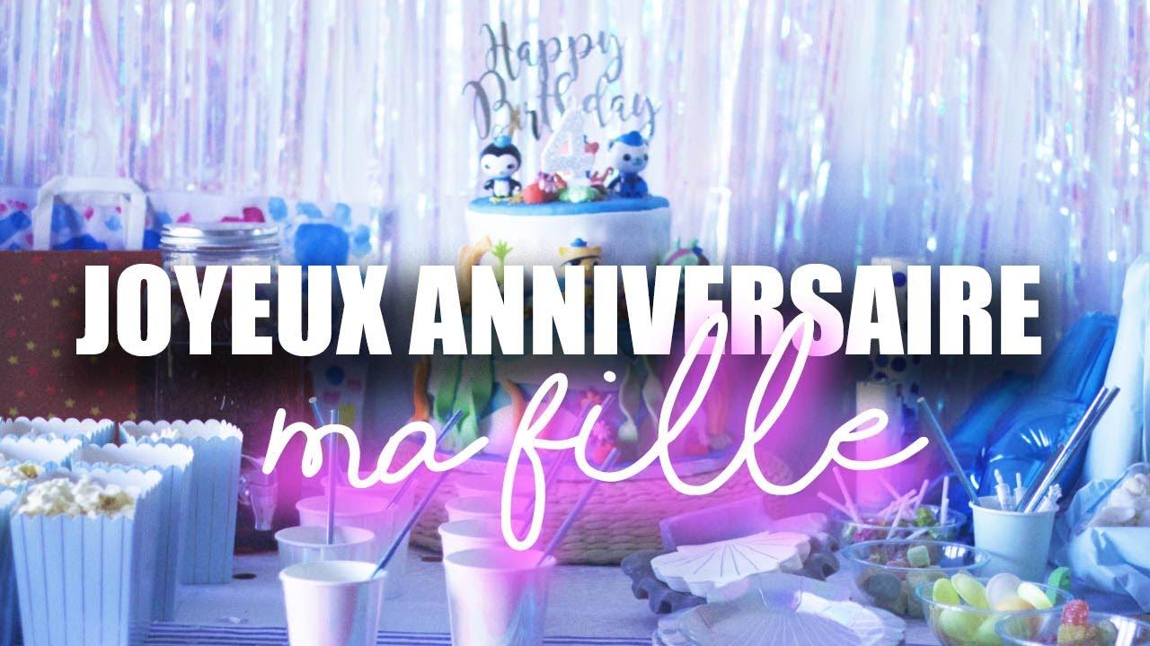Vlog Joyeux Anniversaire Ma Fille Damour