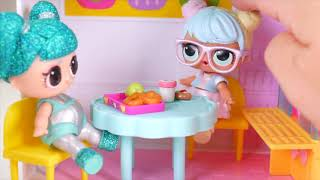 Barbie Doll LOL Family Snowlicious OMG After School Routine Bedtime