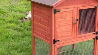 Boomer & George Cottage Rabbit Hutch - Natural - Product Review Video