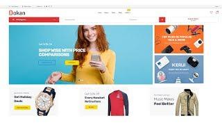 Create a Multi-Vendor eCommerce Marketplace Website with WooCommerce, Dokan Plugin &  Marketo theme