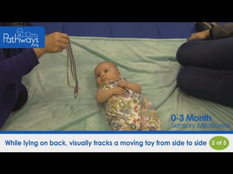 0-3 Month Baby – Sensory Milestones to Look For