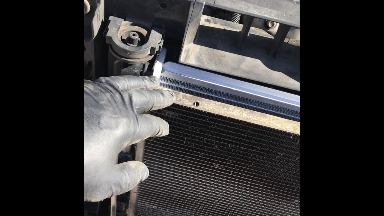 small resolution of 2009 nissan altima radiator replacement 4th gen