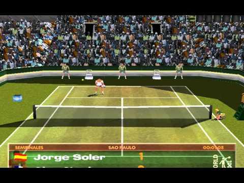 Tie Break Tennis 98 (Hammer Technologies) (MS-DOS) [1998]