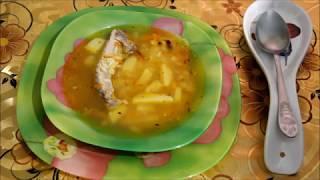 Рисовый суп на свиных ребрышках