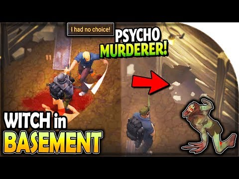 WITCH in a NEW BASEMENT (Attacked by a PSYCHO MURDERER) in Last Day on Earth Survival Update 1.12.2