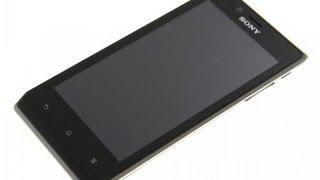 Видео Sony Xperia J ST26i