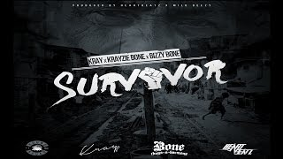 Survivor - Krayfkr ft. Bizzy Bone & Krayzie Bone