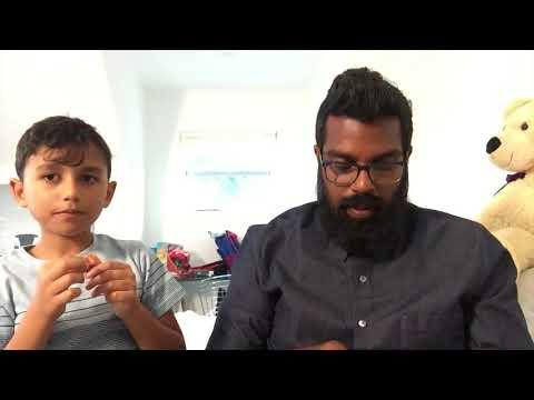 Romesh and Theo Unboxing Vegan Snacks