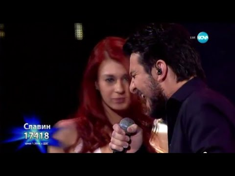 Slavin Slavchev - I Want to Know What Love Is X-Factor Bulgaria 2015