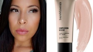 New BareMinerals Complexion Rescue Tinted Hydration Gel - First Impression & Review