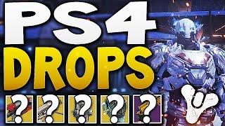 Destiny - PS4 DROPS !! (Nightfall,Vault & Crotas End)