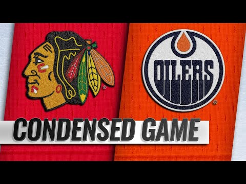 11/01/18 Condensed Game: Blackhawks @ Oilers