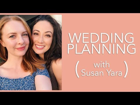 The Perfect Wedding Planning Timeline With Susan Yara! | #GETTINGMARRIED