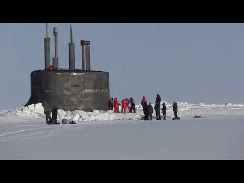 DFN:USS Connecticut (SSN 22) Surfaced in the Arctic Ocean for ICEX, AK, UNITED STATES, 03.21.2018