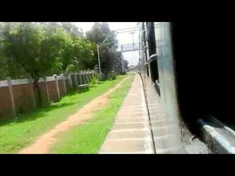Ripping 8 stations @ 110 km/hr : Bangalore City - Danapur Sanghamitra Exp goes on deadly rampage