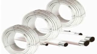 видео Размеры полипропиленовых труб для отопления: инструкция по выбору, типы и фитинги