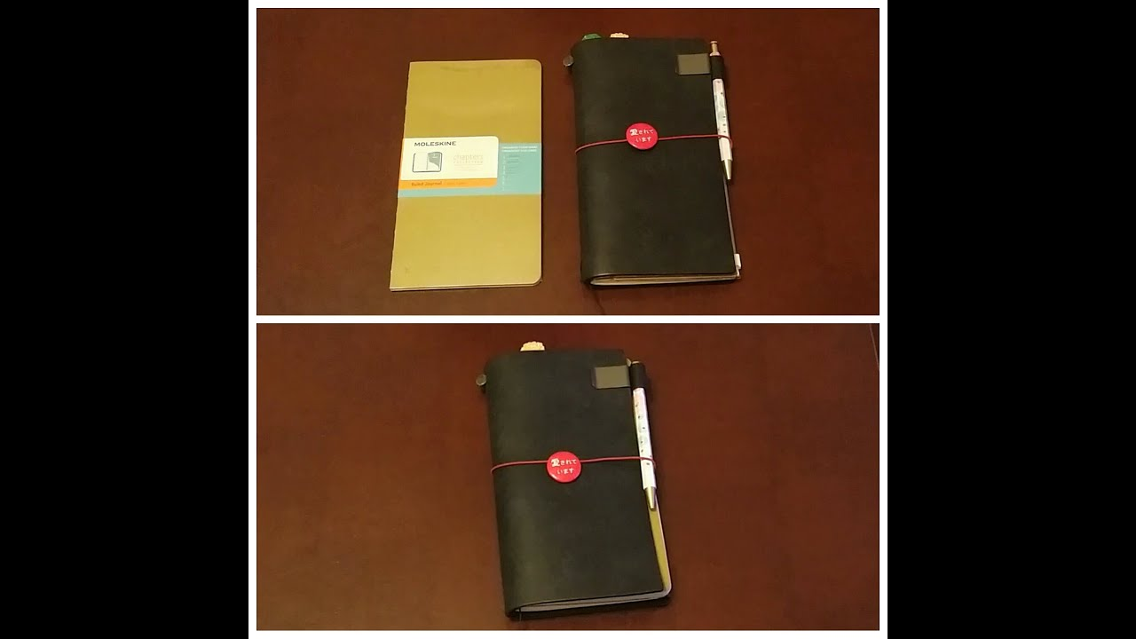 Megarainbowdash2000 S Journal: Moleskine Chapters Journal And Midori Traveler's Notebook