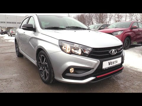 2019 LADA VESTA SPORT 1.8 (145). Start Up, Engine, and In Depth Tour.