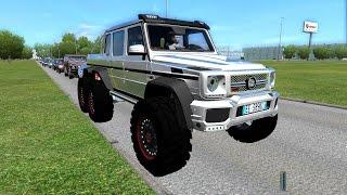 City Car Driving - Brabus 700 6X6