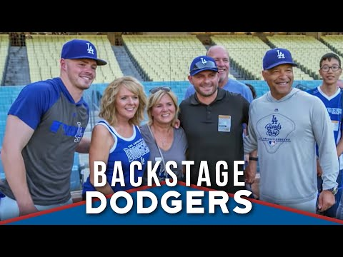 WATCH: Gavin Lux Featured on Backstage Dodgers