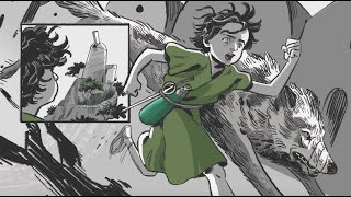 Lupina Book One: Wax   Graphic Novel Trailer