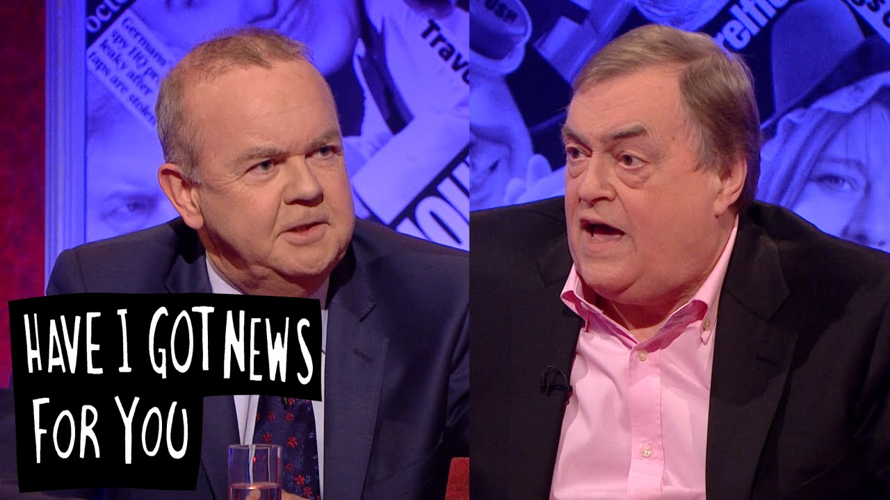 Ian Hislop vs. John Prescott - Have I Got News For You ...
