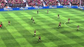 FIFA 14 Goal by bicycle kick